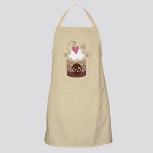 65th Birthday Cupcake Apron