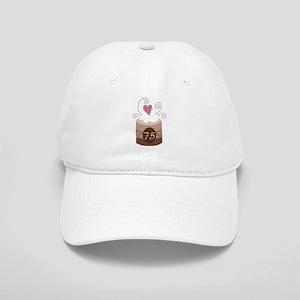 75th Birthday Cupcake Cap