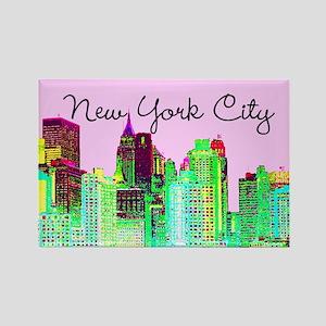 FABULOUS NYC Rectangle Magnet
