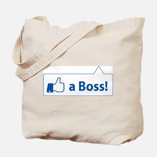 Like a Boss! Funny, Cool In-design Tote Bag