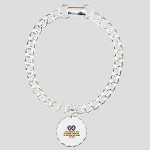 24 year old birthday designs Charm Bracelet, One C