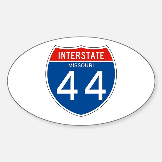 Interstate 44 - MO Oval Decal
