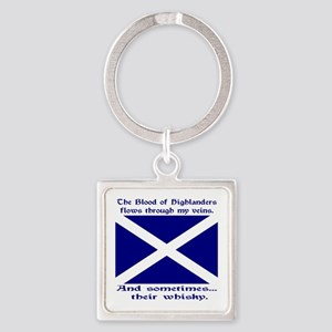 Scottish Blood Whisky St Andrew Keychains
