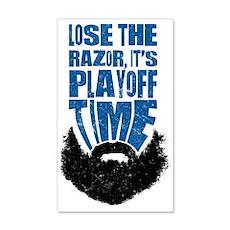 Lose The Razor, Playoff Beard Wall Decal