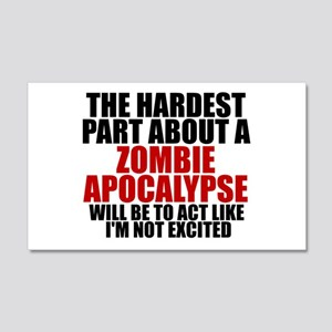 Exciting zombie apocalypse Wall Decal