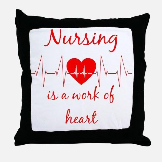 Unique Nursing Throw Pillow