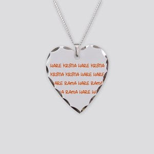 Hare Krsna Maha Mantra Necklace
