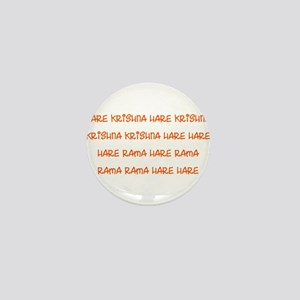 Hare Krishna Maha Mantra Mini Button
