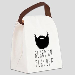 Beard On Play Off Playoff Beard Canvas Lunch Bag