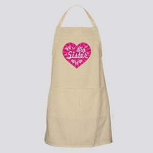 Big Sister Butterfly Heart Apron