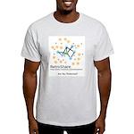 retroshare Ash Grey T-Shirt