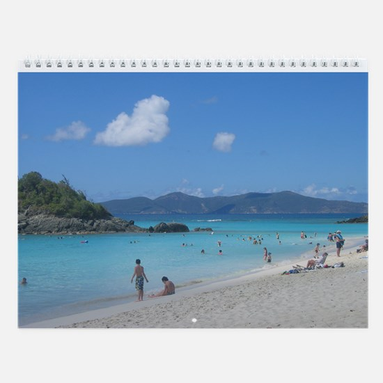 2015 Scenes Fromthe Virgin Islands Wall Calendar
