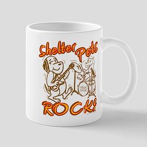 Shelter Pets Rock Mug