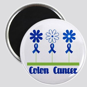 Colon Cancer Flowered Magnet
