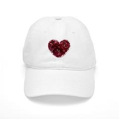 Big red heart Cap