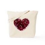 Big red heart Tote Bag