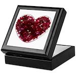 Big red heart Keepsake Box