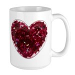 Big red heart Mug
