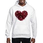 Big red heart Hoodie