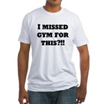 Sweat mode on Fitted T-Shirt