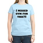 Sweat mode on Women's Light T-Shirt