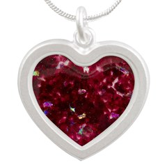 Big red heart Necklaces