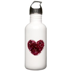 Big red heart Water Bottle