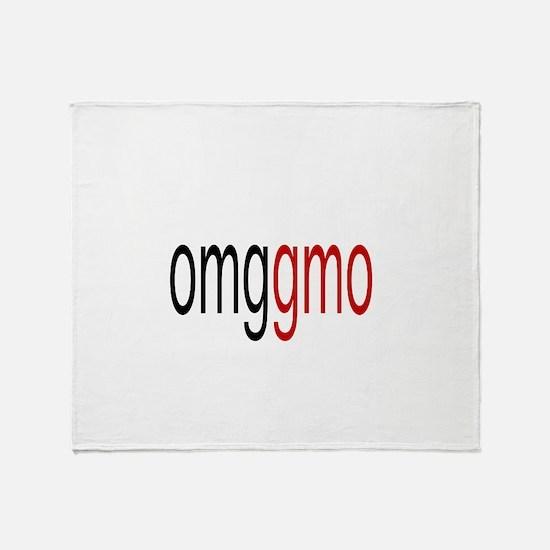 omggmo Throw Blanket