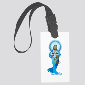 The Virgin Mary Large Luggage Tag
