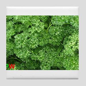 Green fresh parsley (Beautiful Plant World) Tile C