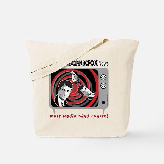 Cute Anti tv Tote Bag