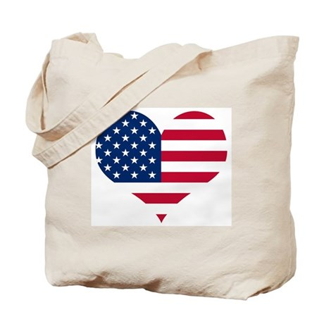 American Heart Tote Bag