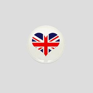 British Heart Mini Button