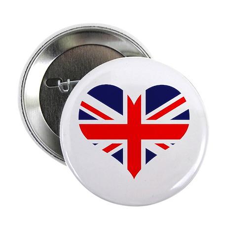 "British Heart 2.25"" Button (10 pack)"