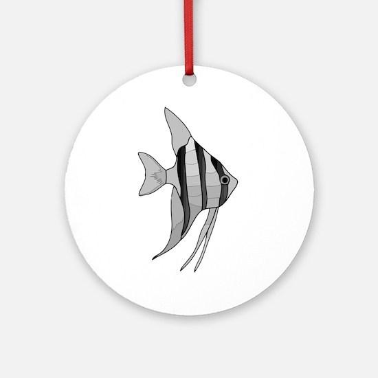 Angelfish Ornament (Round)