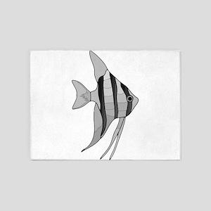 Angelfish 5'x7'Area Rug