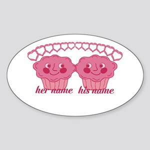 Personalized Cuddle Muffins Sticker