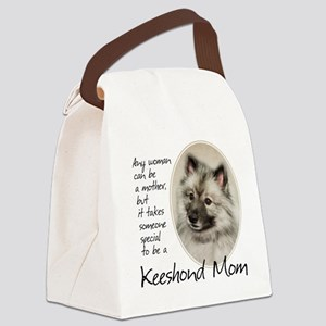 Keeshond Mom Canvas Lunch Bag