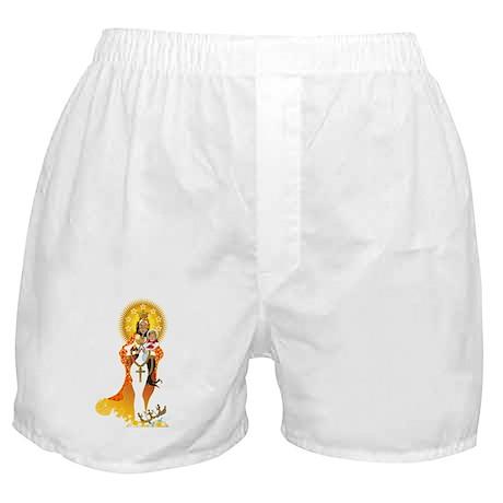 La Virgen de la Caridad del Cobre Boxer Shorts
