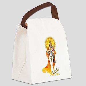 La Virgen de la Caridad del Cobre Canvas Lunch Bag
