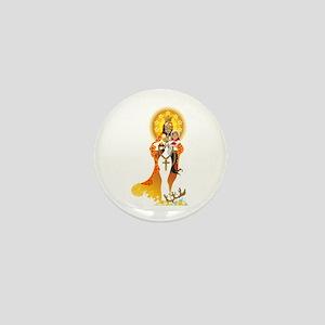 La Virgen de la Caridad del Cobre Mini Button