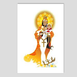 La Virgen de la Caridad del Cobre Postcards (Packa