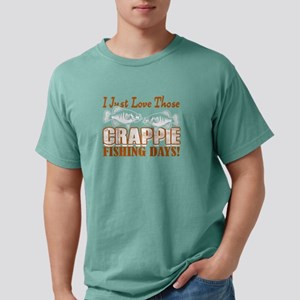 CRAPPIE FISHING DAY TEE Mens Comfort Colors Shirt