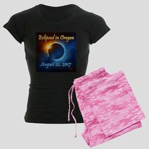 Ladies Pink Camo Eclipse Pj's Pajamas
