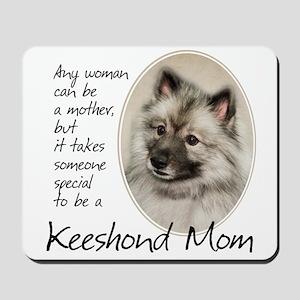 Keeshond Mom Mousepad