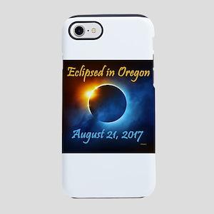 Oregon Solar Eclipse 2017 Iphone 7 Tough Case