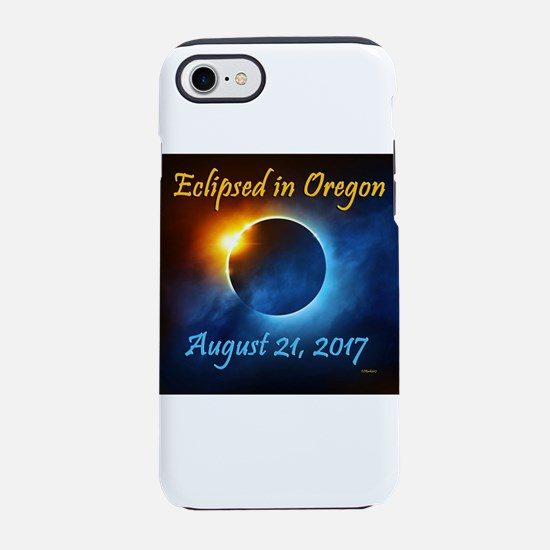 Oregon Solar Eclipse 2017 Iphone 7 Tough Case