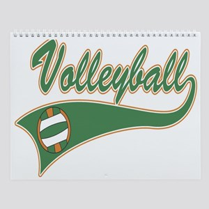 Volleyball Wall Calendar