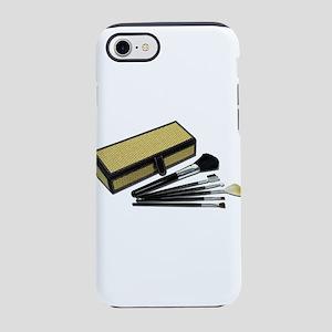 MakeupBrushesWickerBox110511.p iPhone 7 Tough Case