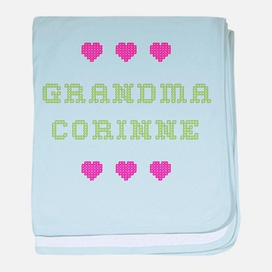 Grandma Corinne baby blanket